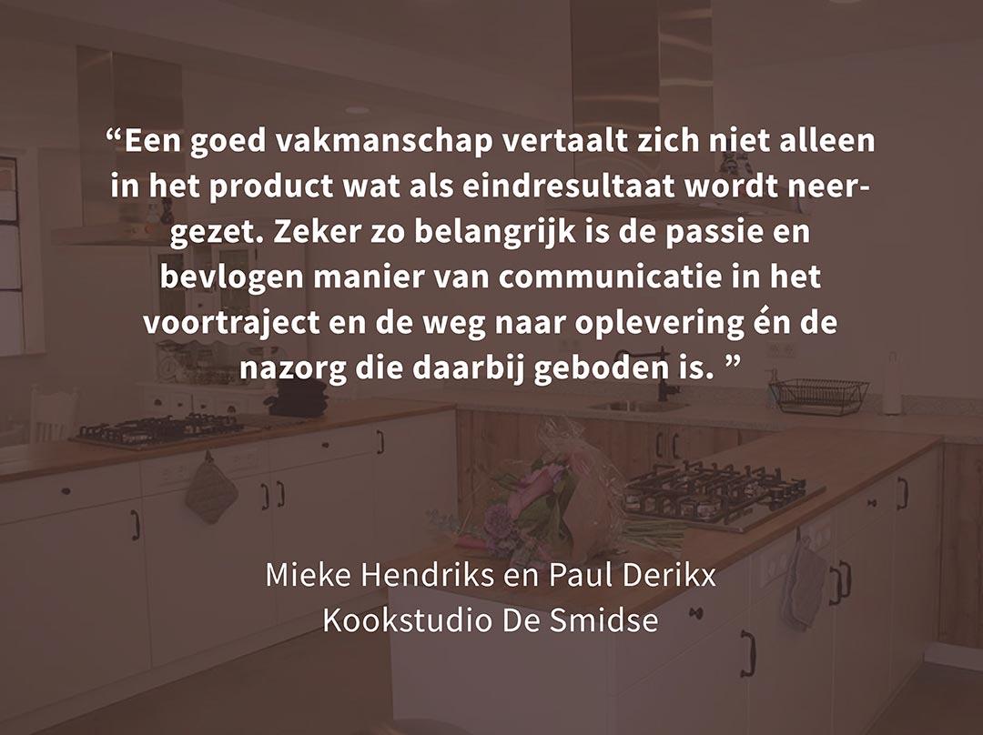 Minten fijn timmerwerk Meterik | portfolio werken - review De Smidse